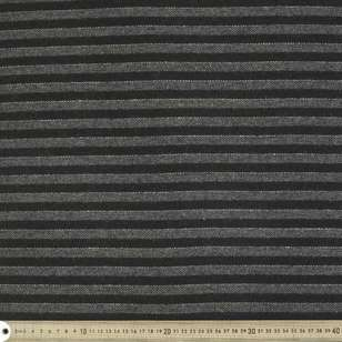 Striped 145 cm Wool Blended Suiting Fabric