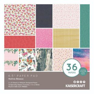 "Kaisercraft Native Breeze 6.5"" Paper Pad"