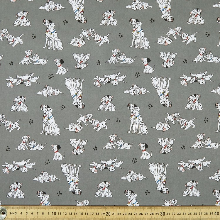 Disney 101 Dalmatians Allover Cotton Fabric