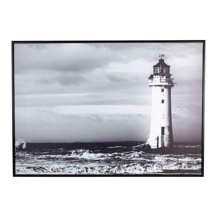Cooper & Co Lighthouse Framed Canvas