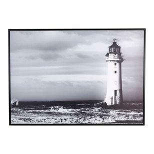 Cooper & Co Lighthouse Framed Canvas