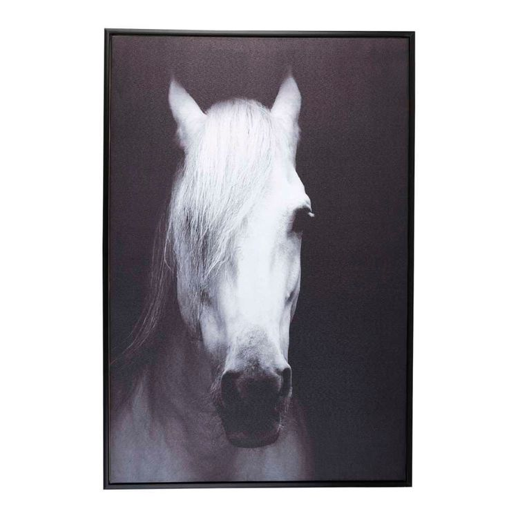 Cooper & Co Horse Framed Canvas