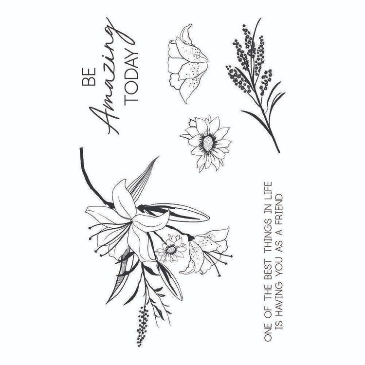 Kaisercraft Lily & Moss Clear Stamp