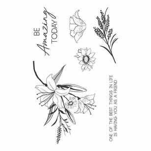 Kaisercraft Lily & Moss Clear Stamp