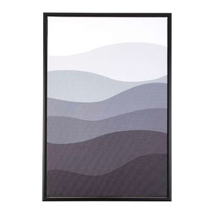 Cooper & Co Waves Framed Canvas