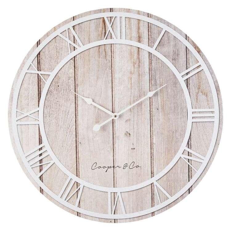 Cooper & Co MDF Roman Clock
