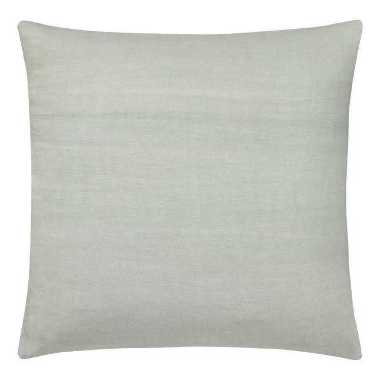 Bouclair Essence Of Green Tabetha Linen Cushion