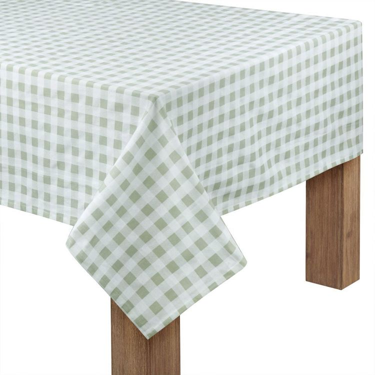 Bouclair Essence Of Green Table Cloth