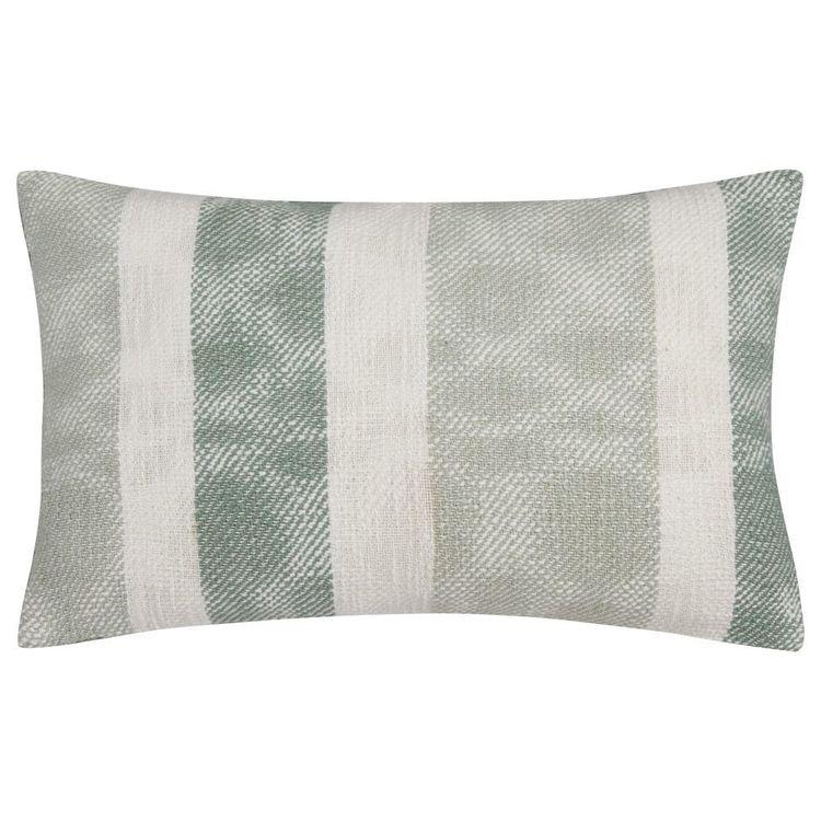 Bouclair Essence Of Green Heidi Jacquard Stripe Cushion