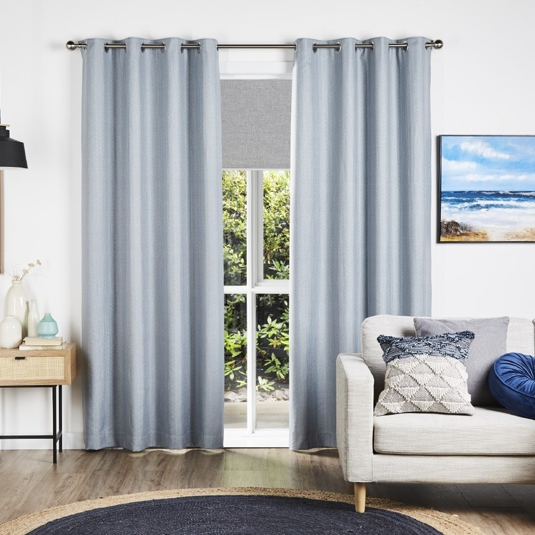KOO Aubrey Blockout Eyelet Curtains