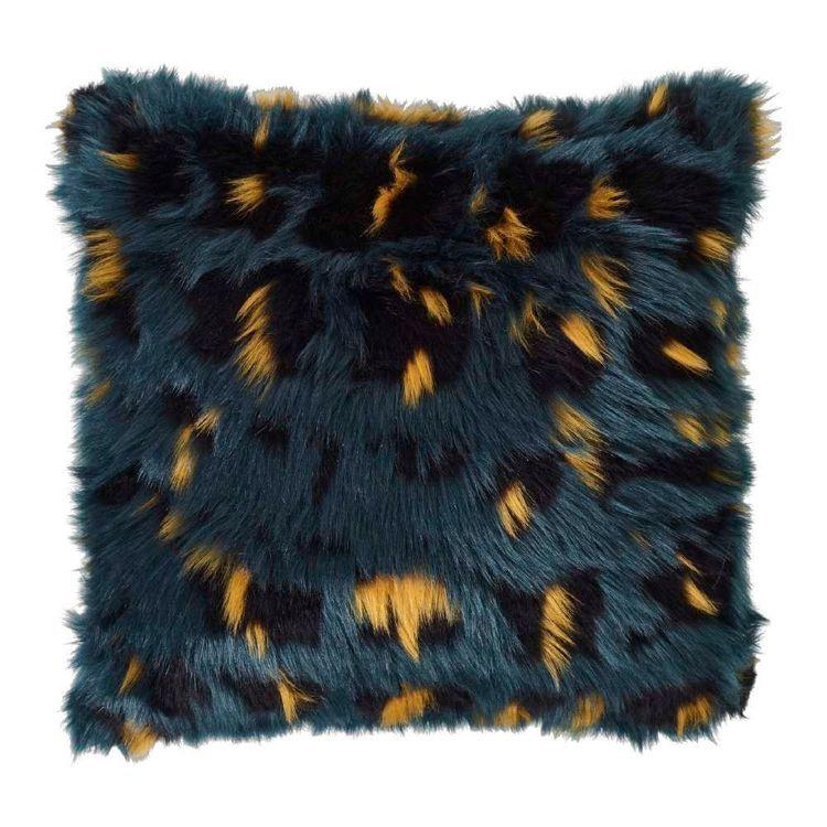 Koo Home Tealia Faux Fur Cushion