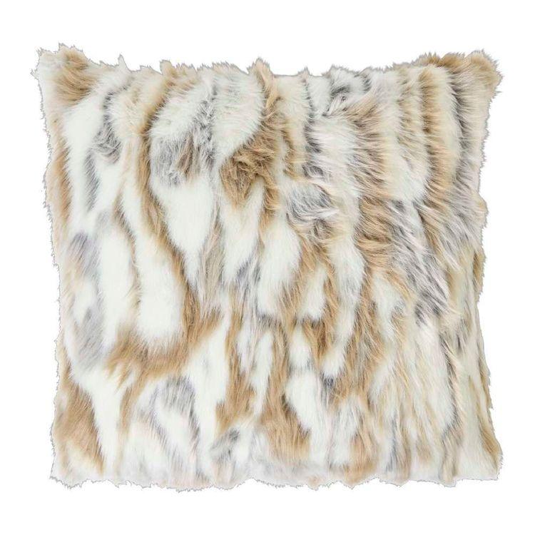Koo Home Lupa Faux Fur Cushion