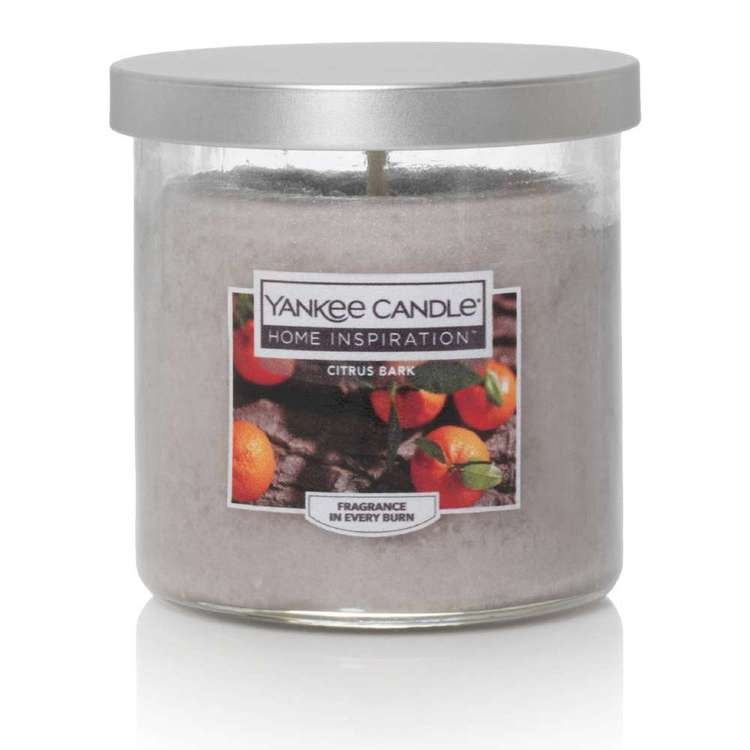 Yankee Candle Home Inspiration Citrus Bark Scented Candle Jar
