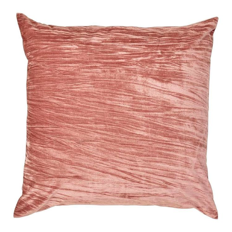 KOO Amara Crinkle Velvet European Pillowcase