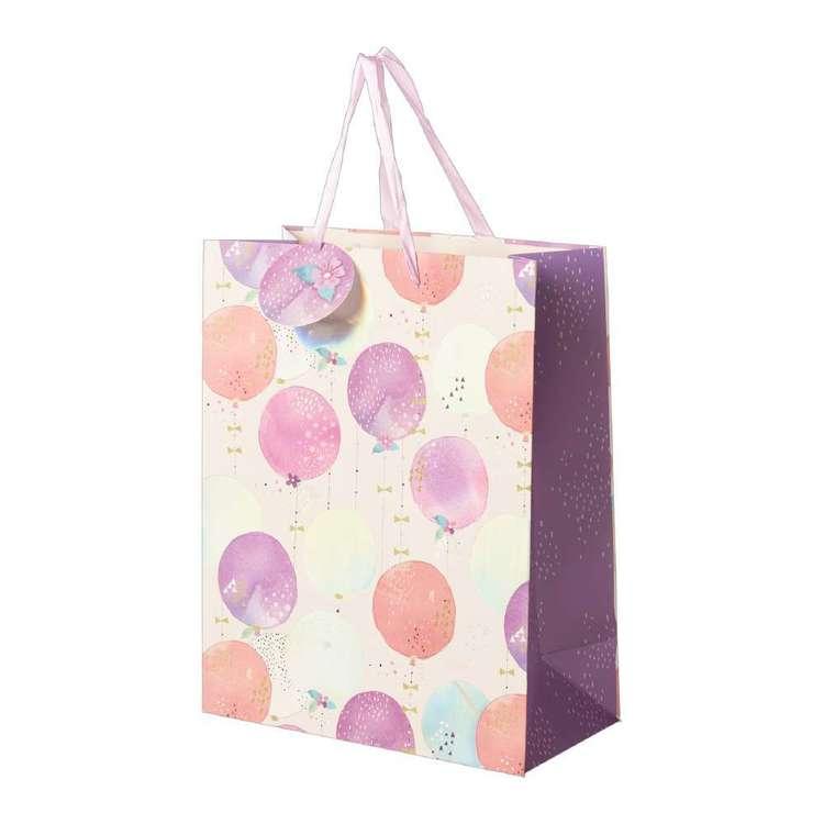 Artwrap Large Floral Balloons Bag