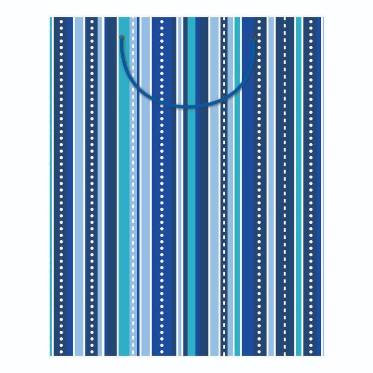 Artwrap Male Stripes Large Bag
