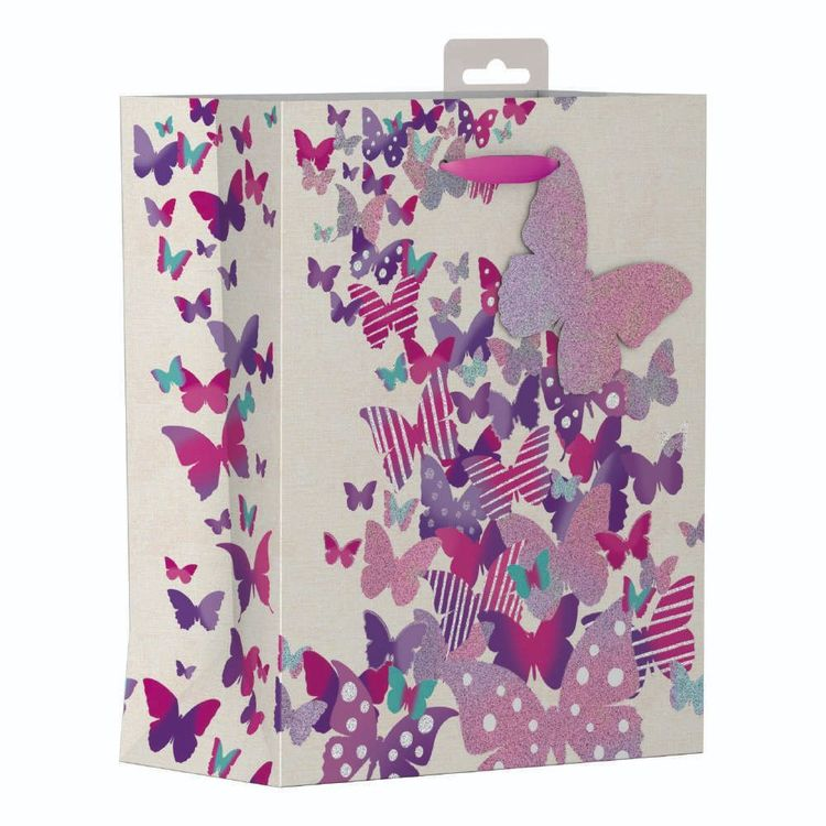 Artwrap Large Butterflies Bag