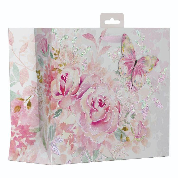 Artwrap Large Floral Watercolour Bag