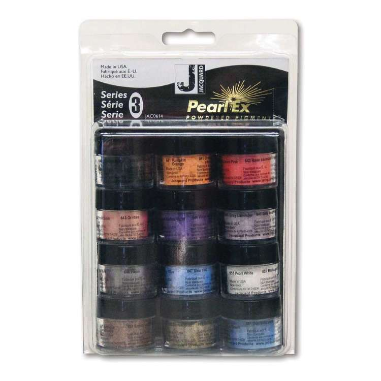 Jacquard Pearl Ex Powdered Pigment Series 3 Set Multicoloured