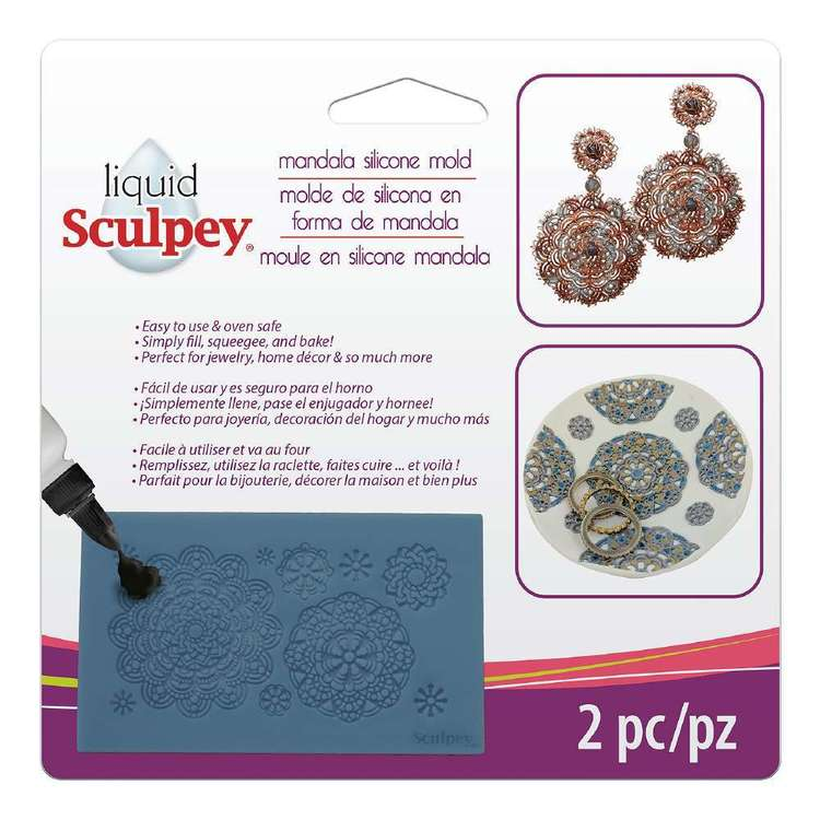 Sculpey Mandala Silicone Mould