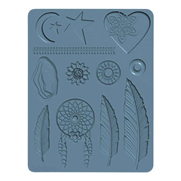 Sculpey Silicone Bakeable Boho Chic Mould