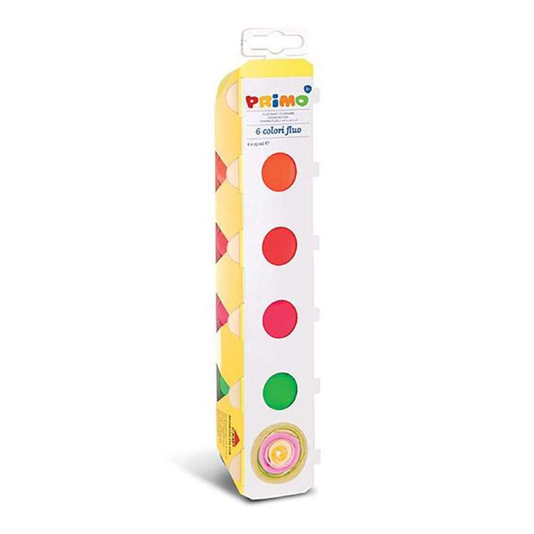 Primo Ready Mix Poster Paint Set of 6