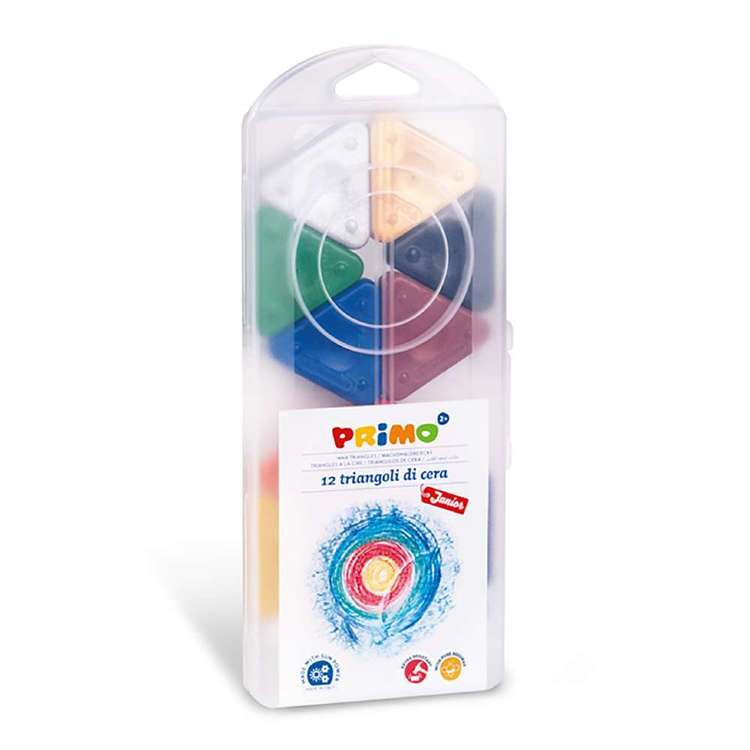 Primo Wax Triangles Set of 12