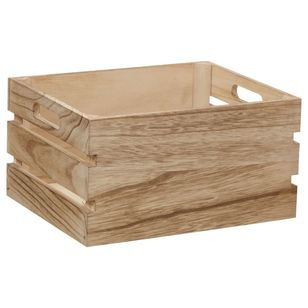Bouclair Essence Of Green Wooden Crate