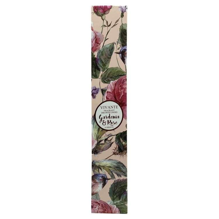 Pastel Pines Vivante Gardenia & Rose Draw Liners 4 Pack