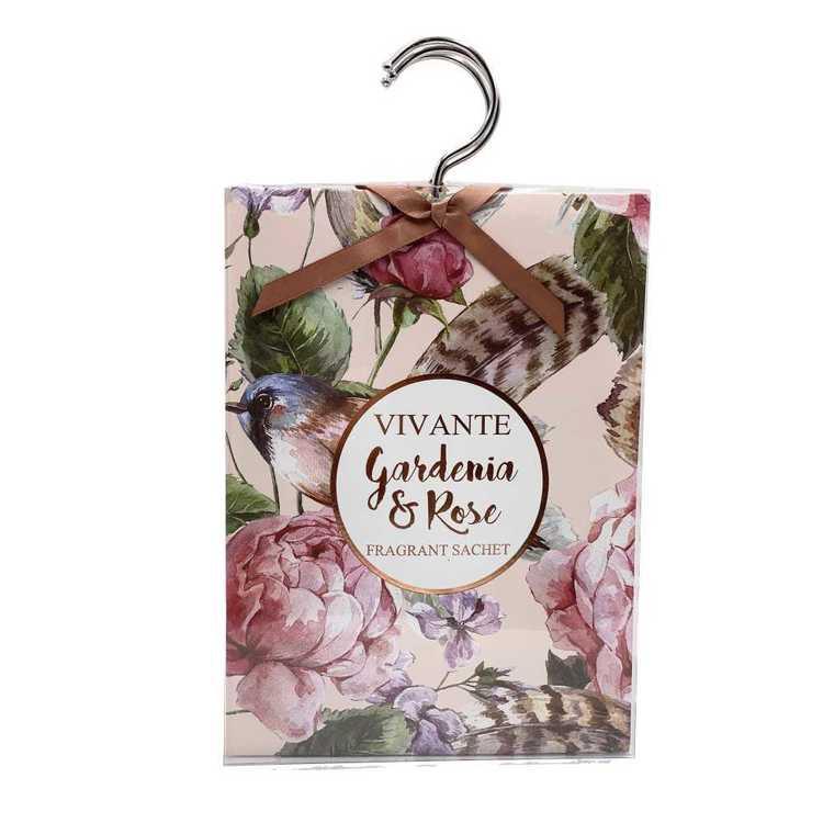 Pastel Pines Vivante Gardenia & Rose Fragrance Sachets 3 Pack