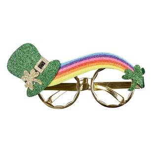 St. Patrick's Day Rainbow Glasses