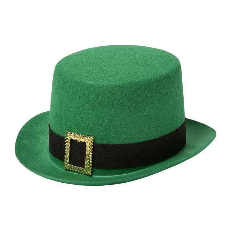 St. Patrick's Day Top Hat Green