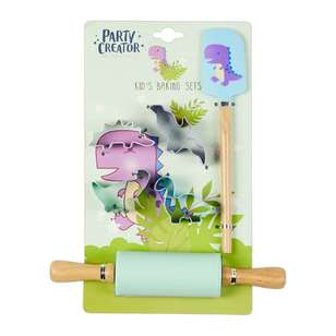 Party Creator Dinosaur Kids Baking Set