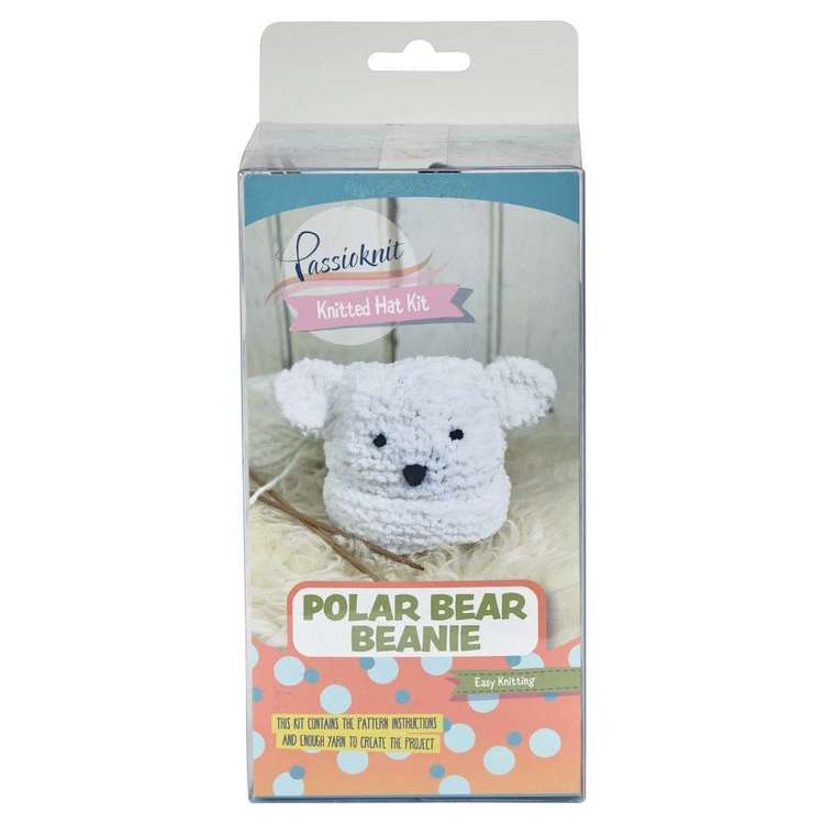 Passioknit Polar Bear Yarn Kit