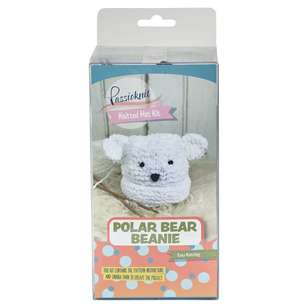 Passioknit Polar Bear Yarn Kit
