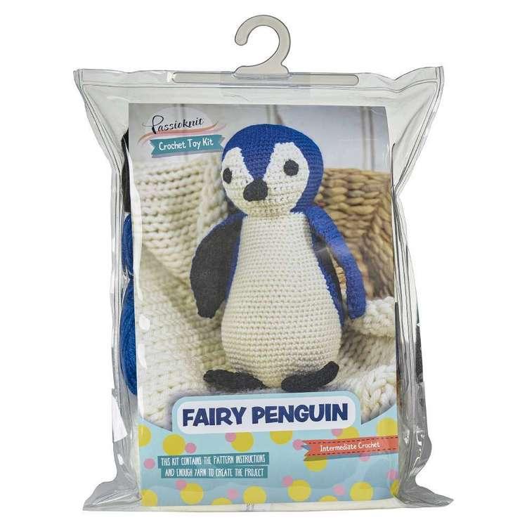 Passioknit Penguin Crochet Toy Knit Kit