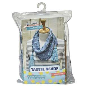 Passioknit Tassel Scarf Wool Yarn Kit