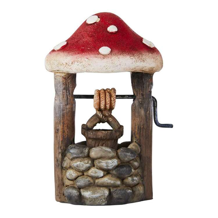 Fairy Village Mini Fairy Mushroom Wishing Well