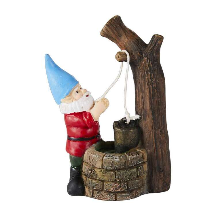Fairy Village Mini Fairy Gnome With Well