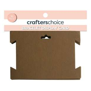 Crafters Choice Bracelet Jewellery Display Card