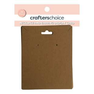 Crafters Choice Necklace Jewellery Display Card