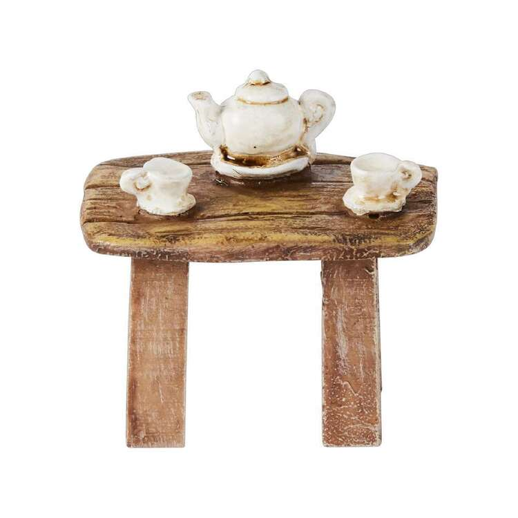 Fairy Village Mini Fairy Tea Table