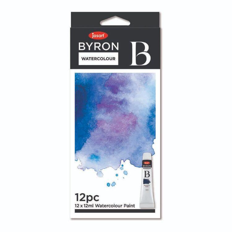 Jasart Byron Watercolour Set 12 Pack