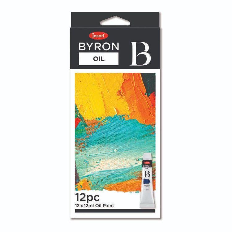 Jasart Byron Set Of 12 12 mL Oil Paint