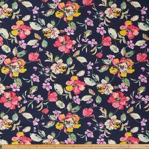 Big Bloom Printed 112 cm Country Garden TC Fabric