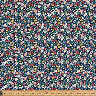 Happy Flower Printed 112 cm Country Garden TC Fabric