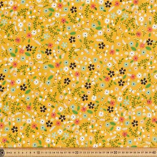 Working Bee Printed 112 cm Country Garden TC Fabric