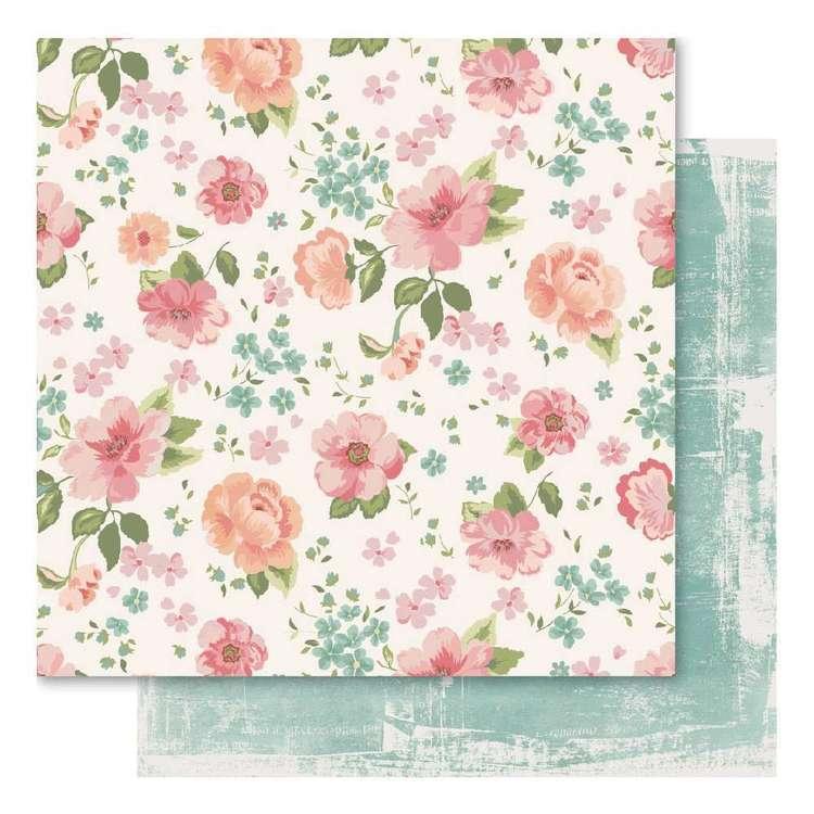 Bella! Union Floral Printed Paper