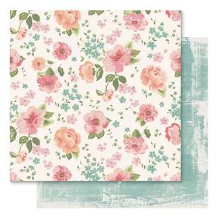 Bella! Union Floral Printed Paper