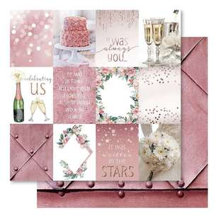 Bella! Mini Themes Blush Quarters Cardstock